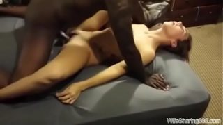 I film my Wife Fucked and Creampied by BBC in L…